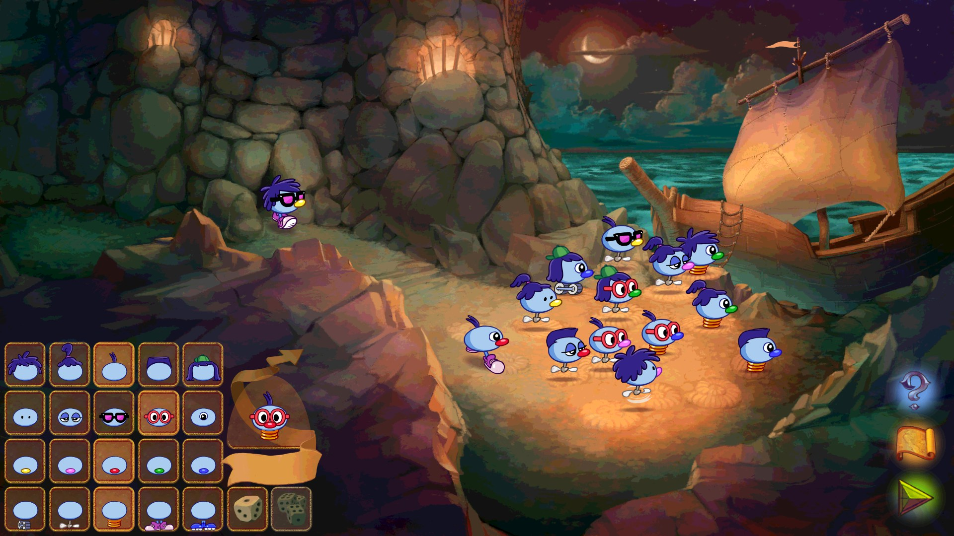 Online browser games zoombinis