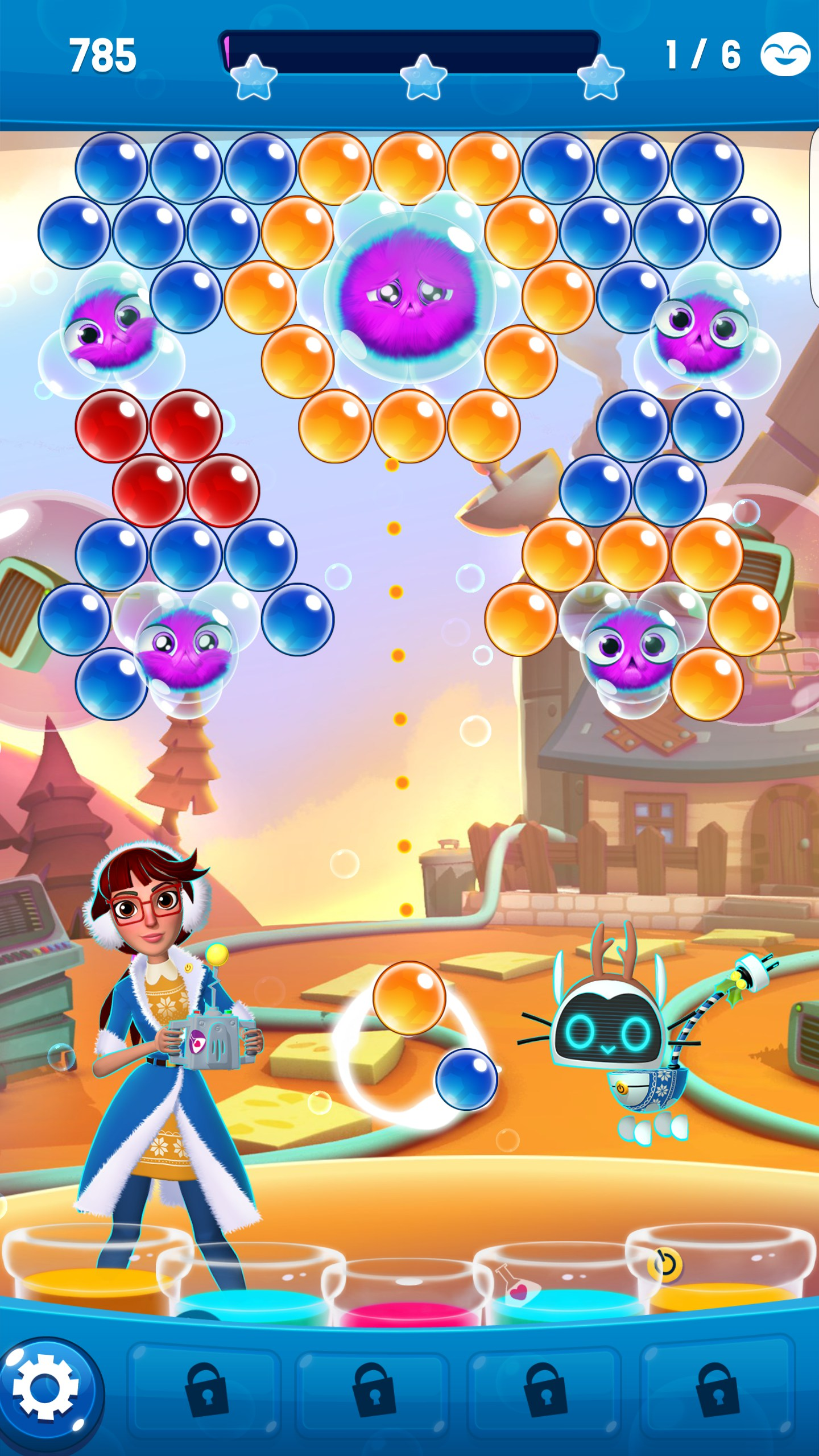 Bubble Shooter Game for Android - Free Download