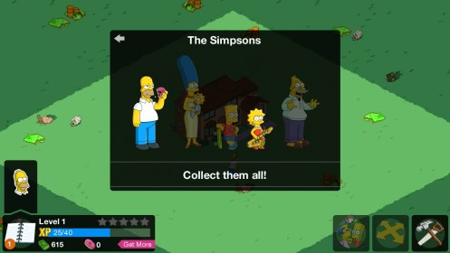 The Simpsons: Tapped Out for Acer Liquid