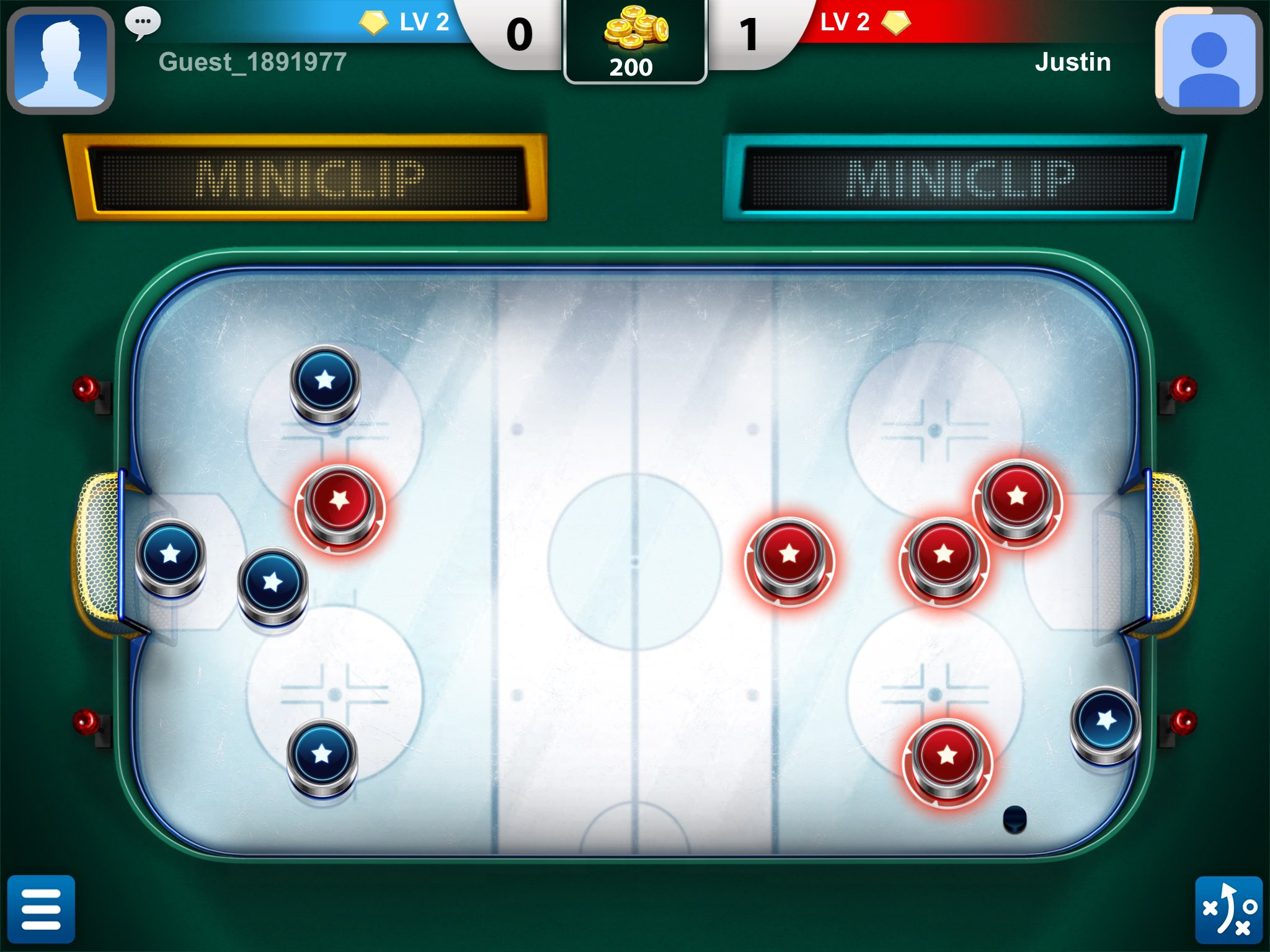 the crazy effects of a hockey game Build your own addictive games by using all your own photos and by recording or choosing sound effects to customize the game  game with levels-new hockey.