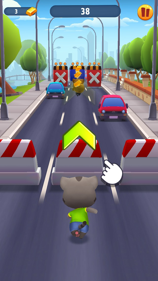 Any Questions Animation Talking Tom Gold Run f...