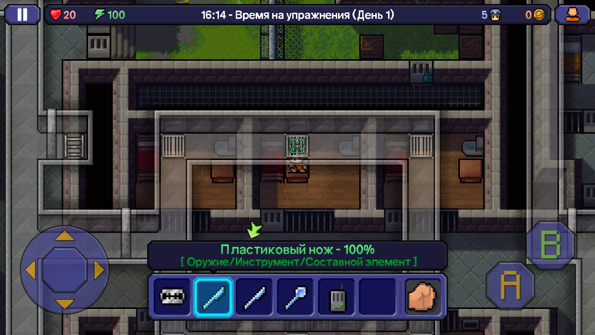 The Escapists / Wiki / Крафт - Игротоп