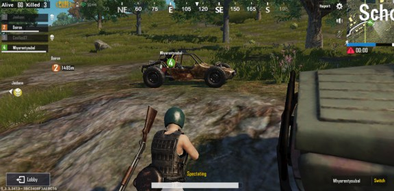 PUBG Mobile para China Aoson M19