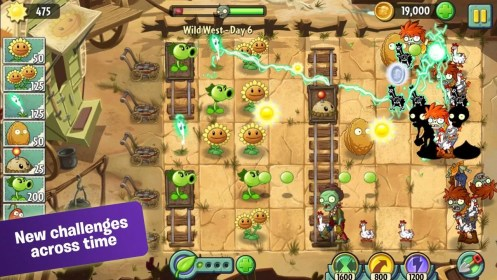 Plants vs. Zombies 2 para Sony Xperia J
