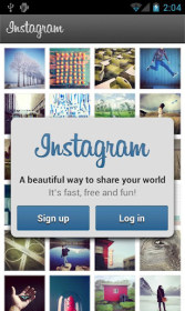 Instagram do Samsung GT-N7100 Galaxy Note II