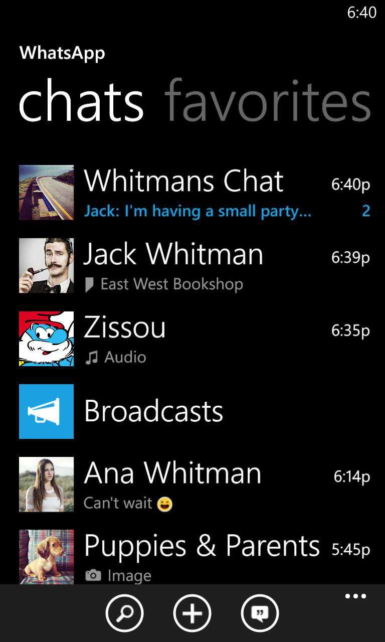 whatsapp nokia lumia 610