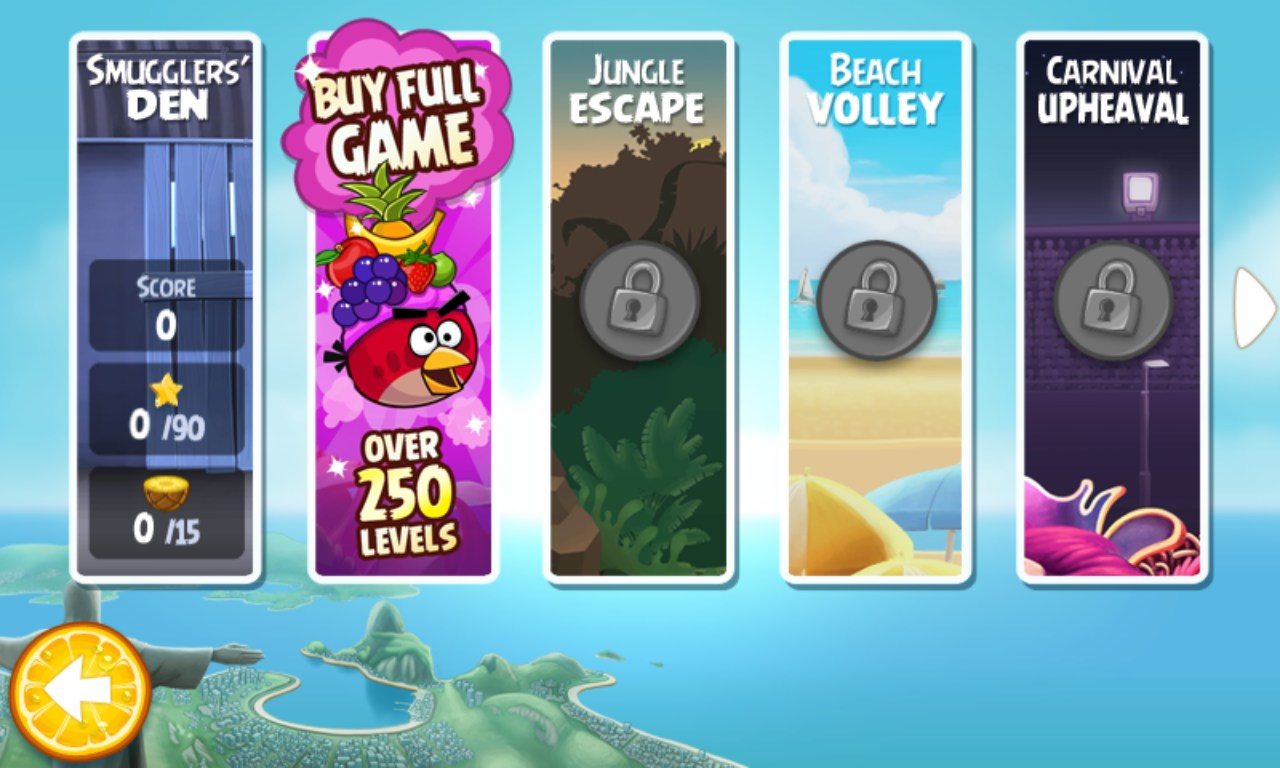 angry birds rio para windows mobile