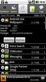Android System Info for GoClever TAB A101