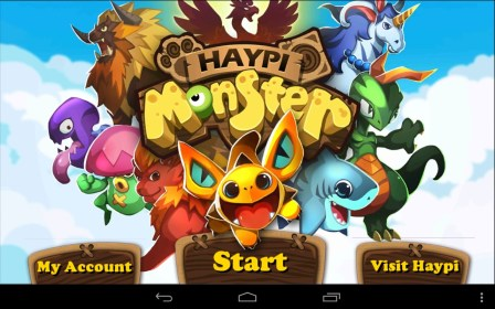 Haypi Monster do BLU Vivo 4.8 HD