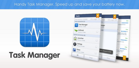 Task Manager от Sand Studio for Huawei Ascend P1