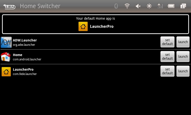Home Switcher for Huawei Ascend Y511 2018 – Free download
