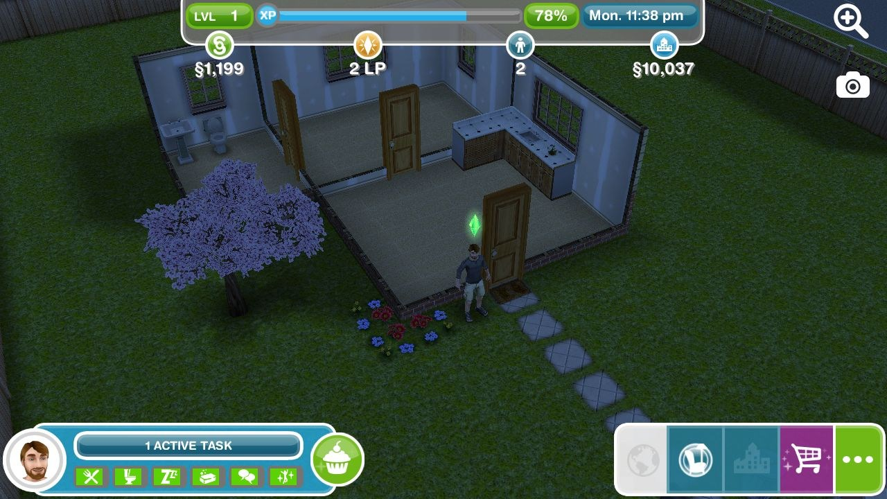 The Sims FreePlay For HP Slate 10 HD