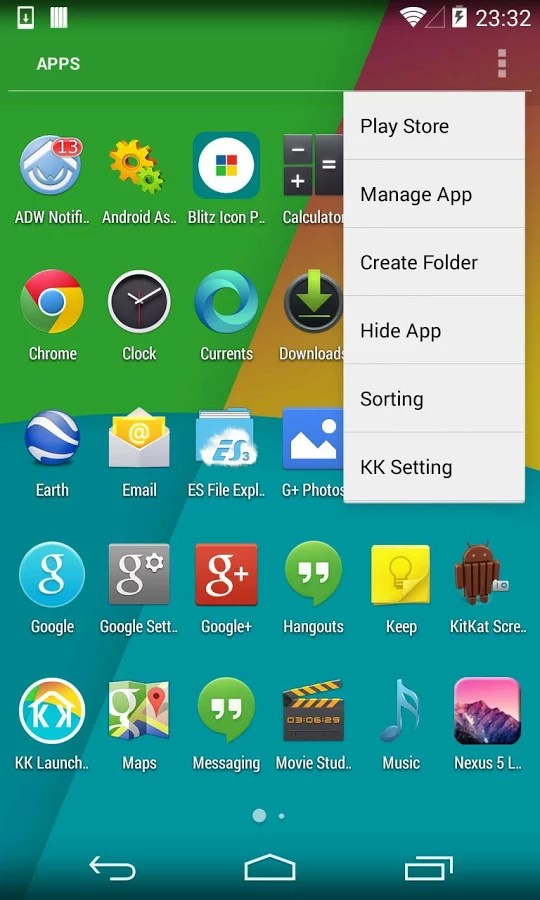 KK Launcher (KitKat Launcher) for Oppo Yoyo 2018 – Free