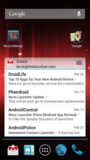 Nova Launcher for Huawei Ascend Y300 2018 – Free download