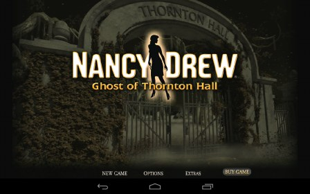 Nancy Drew: Ghost of Thornton