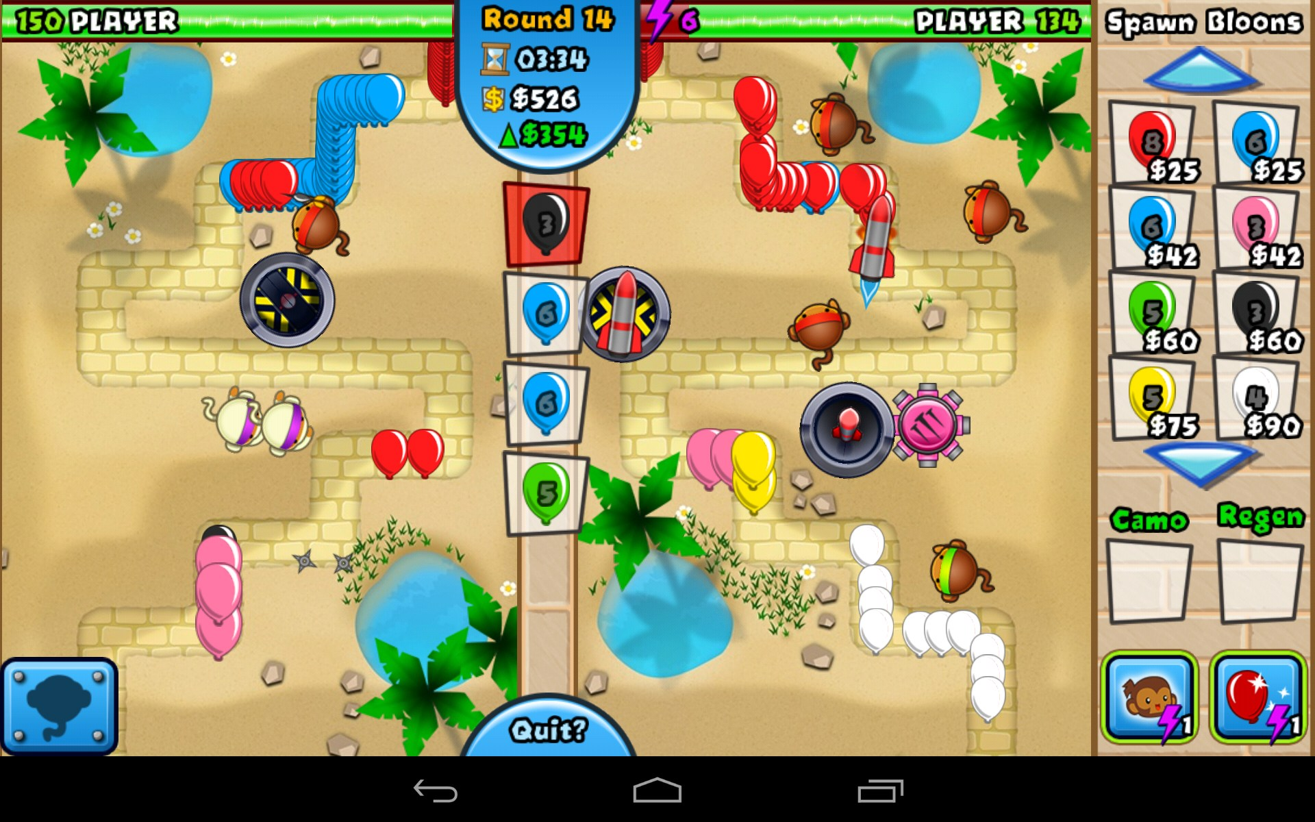 Bloons td battles for toshiba ac100 free download games for