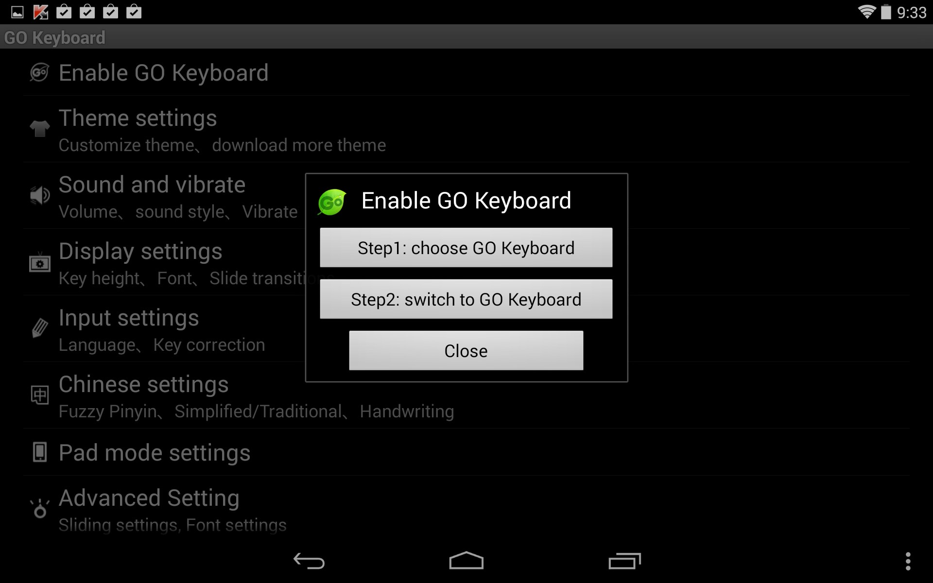 GO Keyboard for Samsung GT-N7100 Galaxy Note II 2018 – Free