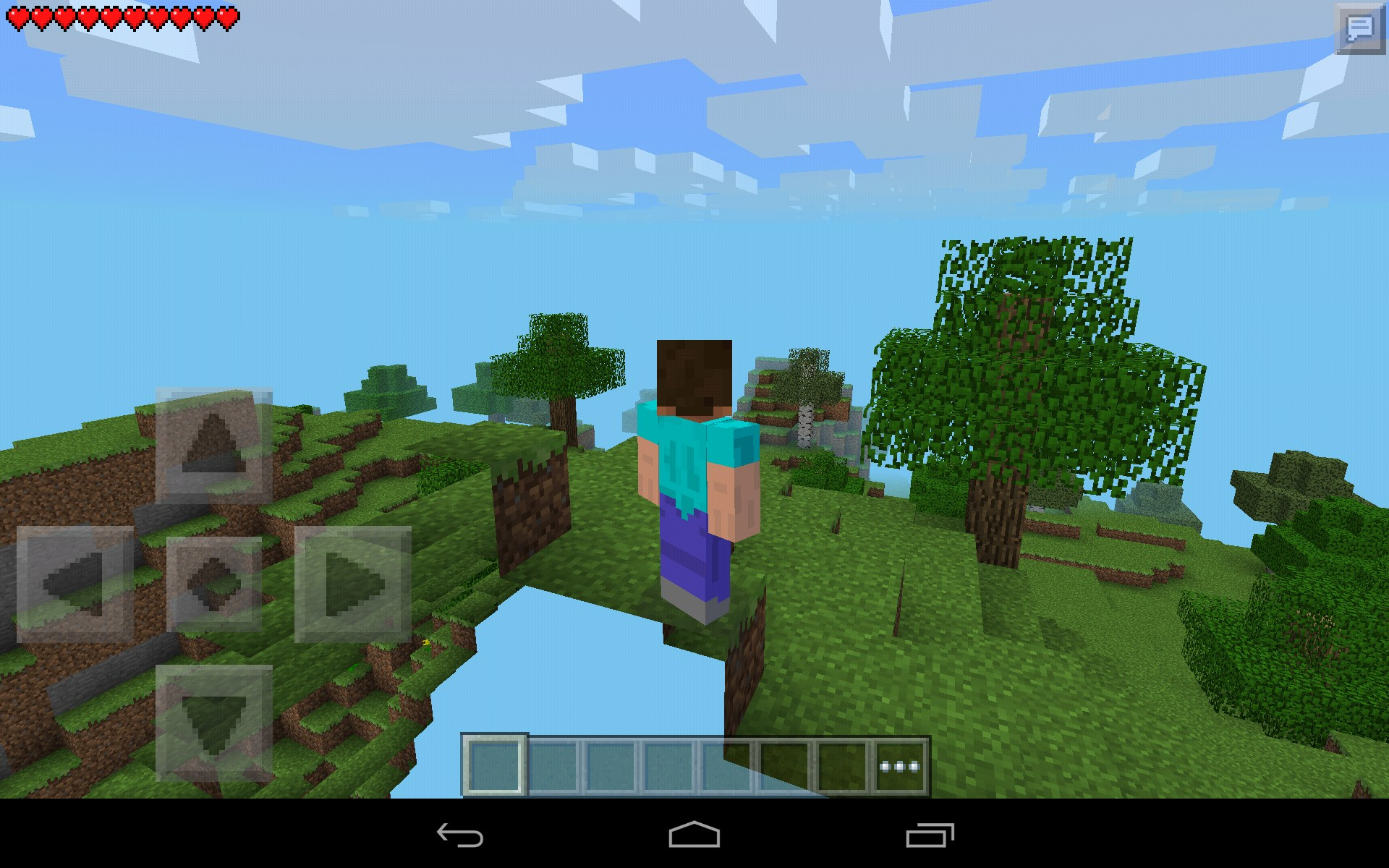 Minecraft Pocket Edition for Samsung Galaxy Tab 4 7 0 games for Android tablets