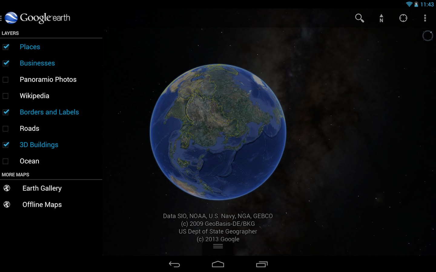 free download google earth for my android phone