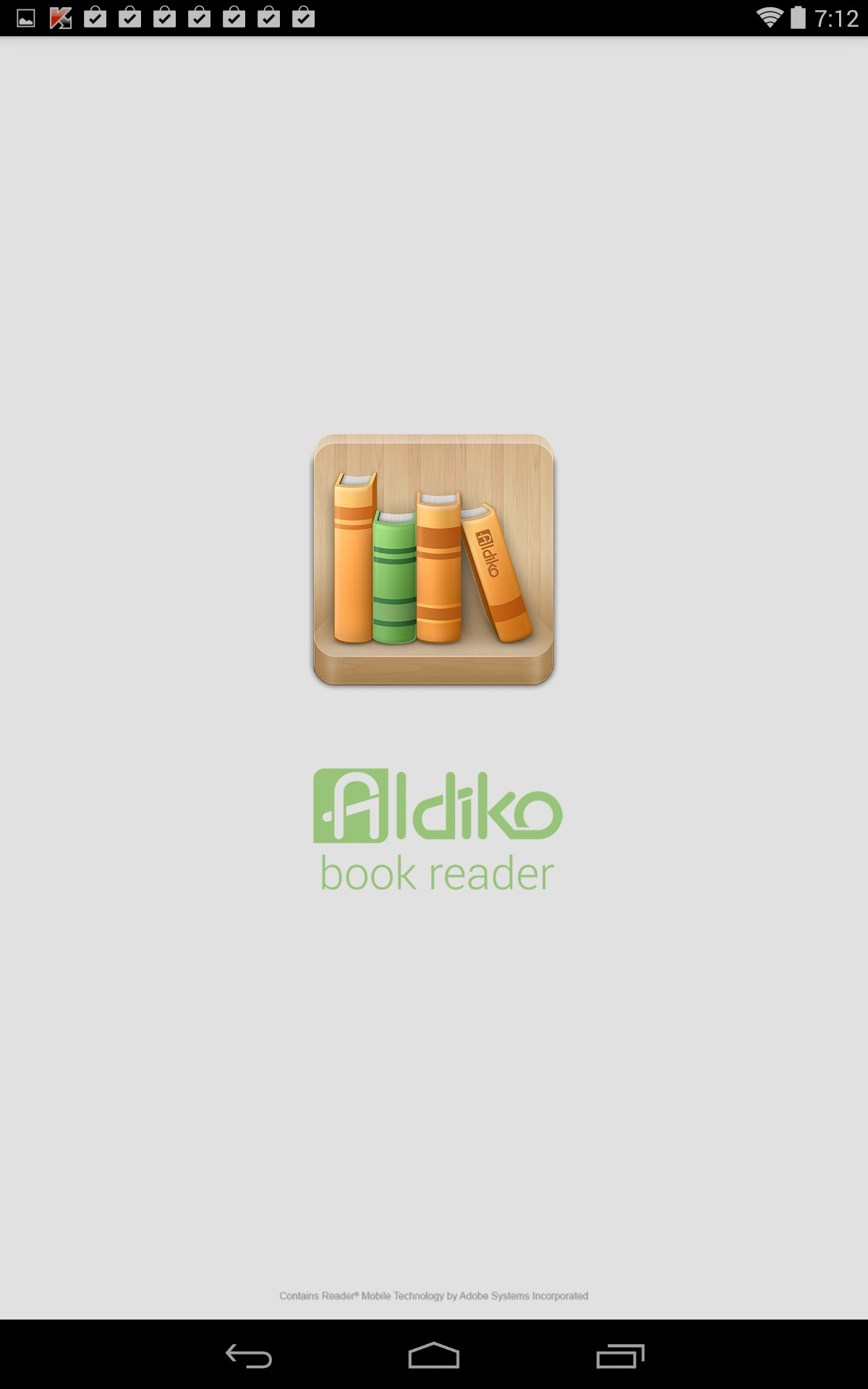 How to download free Aldiko Book Reader for Fly Flylife Web 7