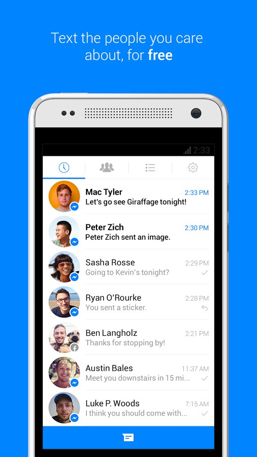 Facebook Messenger for Samsung GT-S5830 Galaxy Ace 2018