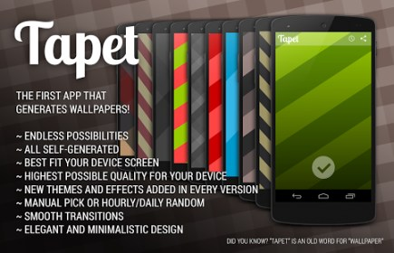 Tapet - Wallpapers Reinvented