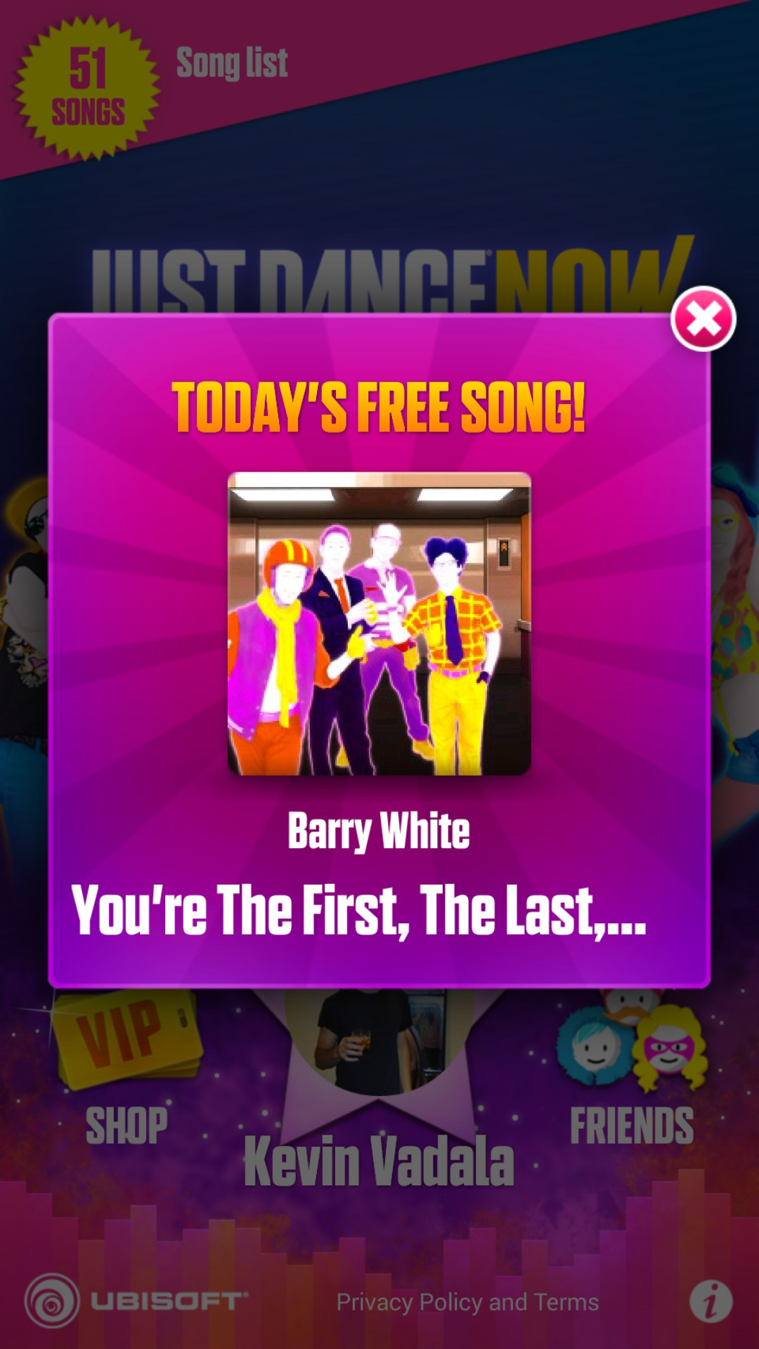 just dance now free songs list