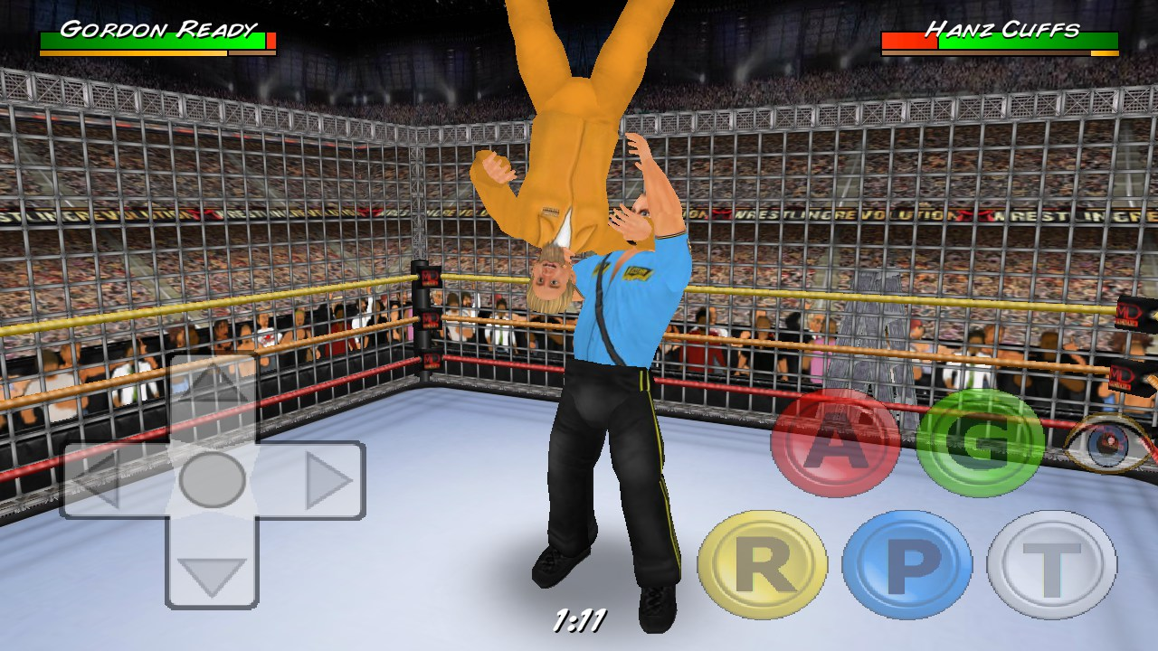 how to play wrestling game