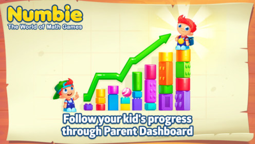 Numbie — Basic Math Skills for School для iPod touch 4G
