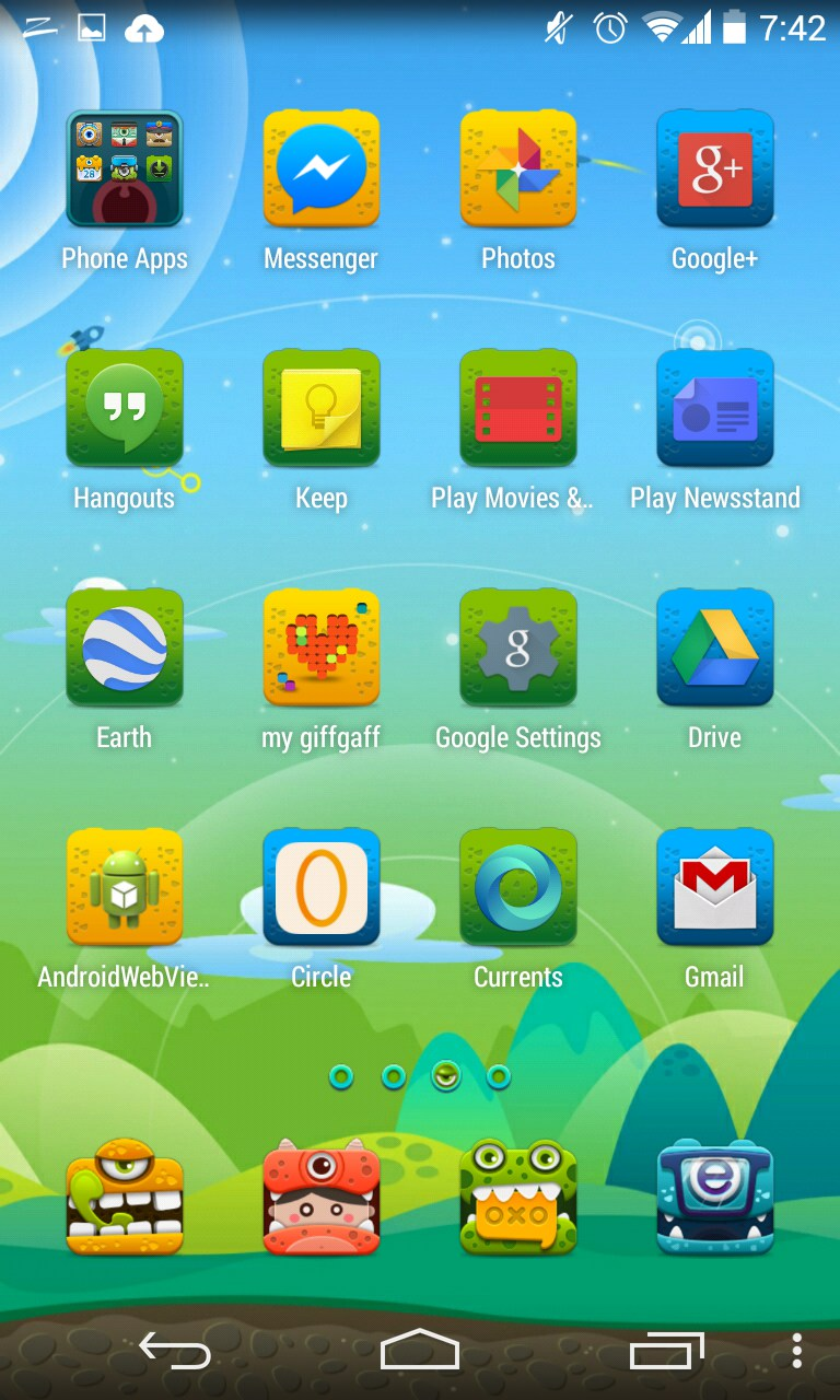 ZERO Launcher for Huawei Ascend Y220 2018 – Free download soft for