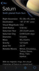 Sky Guide: View Stars Night or Day для iPhone 4