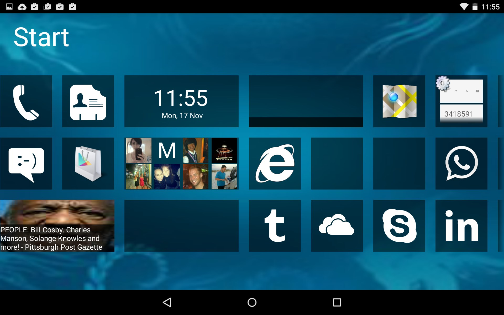 how to make android like windows phone 8