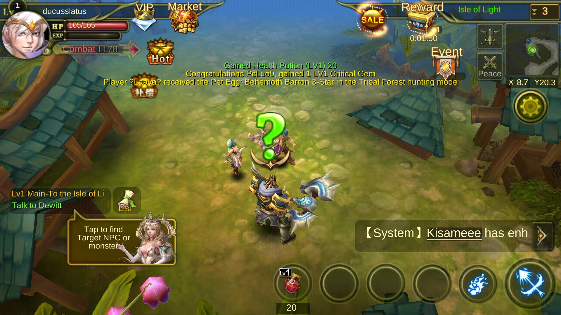 online mobile games mmorpg