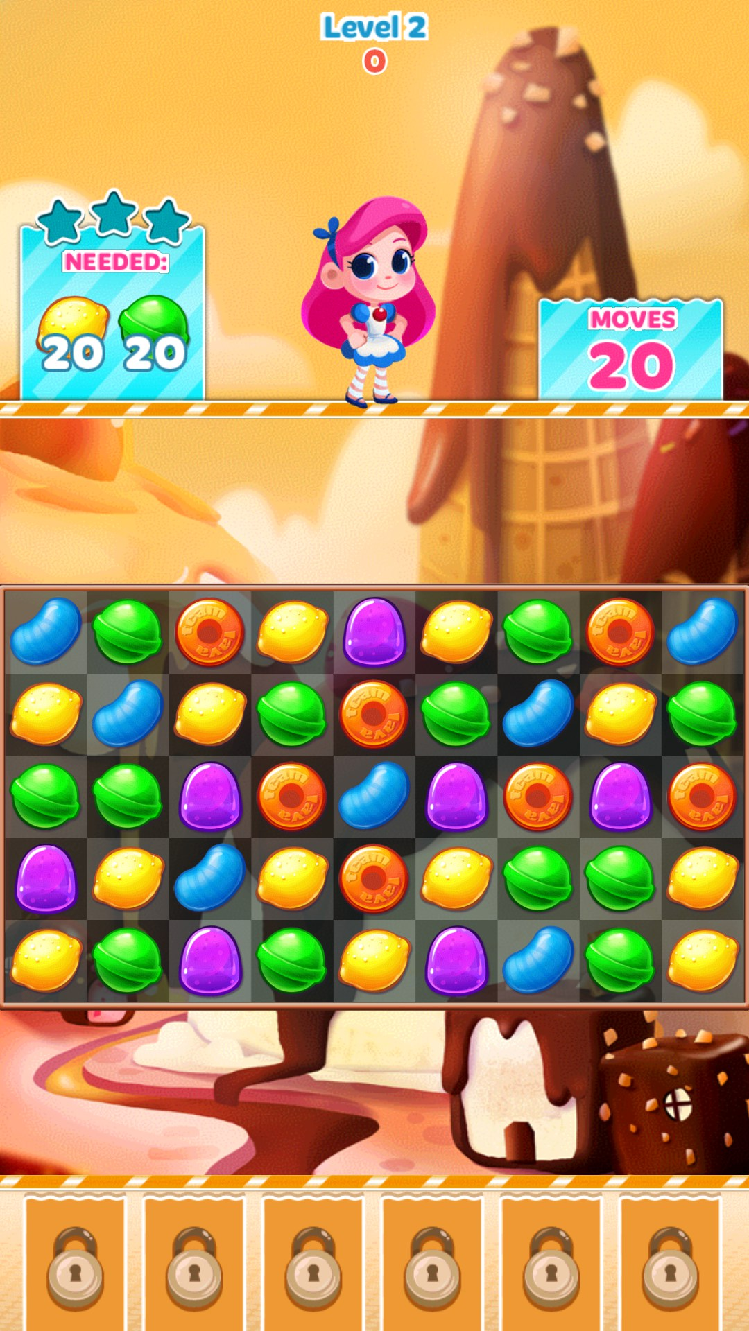 Candy Blast Mania for China Ampe A10 Quad Core (Sanei N10) - Free download games for Android tablets
