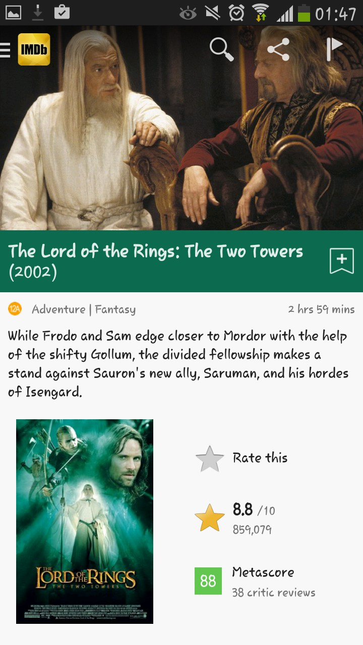 IMDb Movies & TV for Xiaomi Redmi Note 2018 – Free download soft for ...