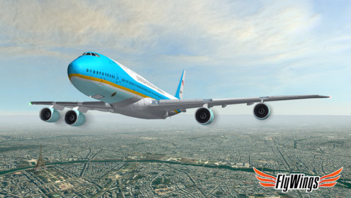 Flight Simulator Paris 2015 Online для iPod touch 4G