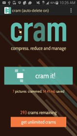 Cram - Reduce Pictures