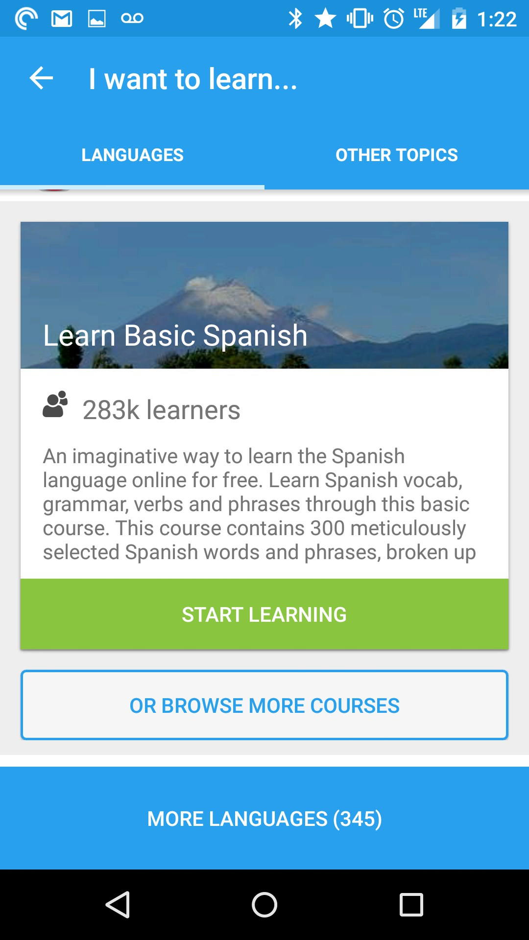 Memrise: Learn a new language for Samsung Galaxy S5 2018 – Free