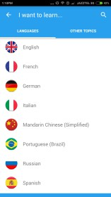 Memrise: Learn a new language para Sony Ericsson Xperia X10 mini pro