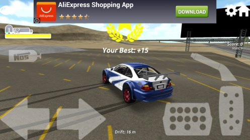 Super GT Race & Drift 3D para Samsung GT-S6010 Galaxy Music