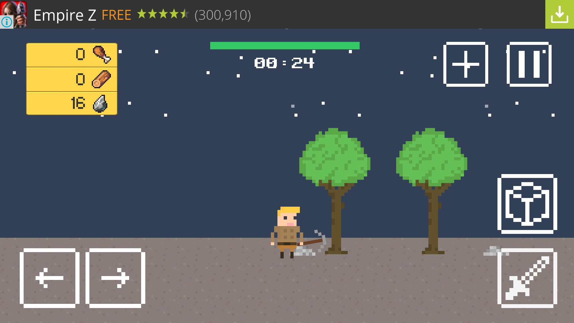 Tiny Survivor for Nokia X2 2018 – Free download games for