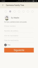 MyHeritage - Family Tree para Sony Ericsson Xperia X10 mini pro