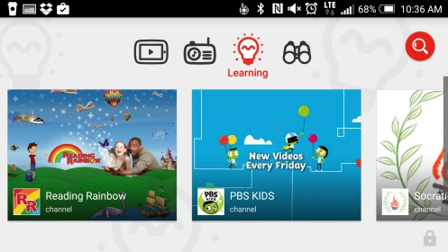 youtube kids programmes pour android 2018