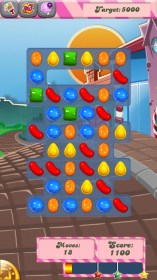 Candy Crush Saga for Samsung GT-S5360 Galaxy Y